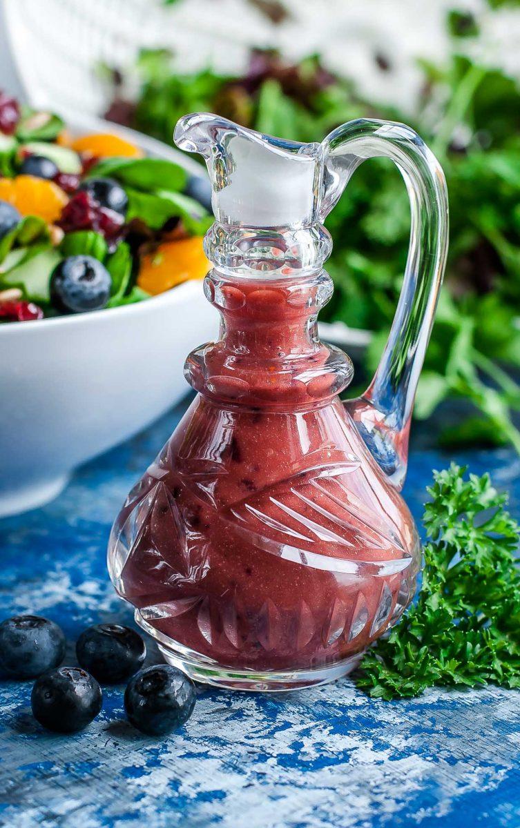Balsamic Blueberry Salad Dressing