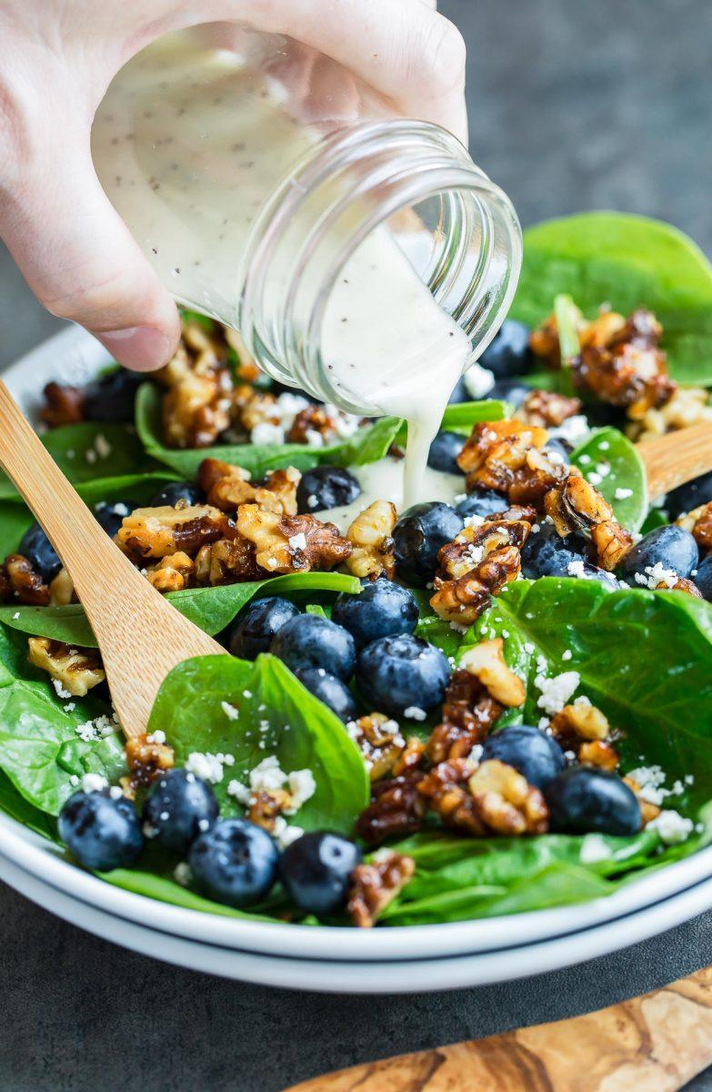 Homemade Salad Dressing Recipes - Lemon Poppyseed Dressing