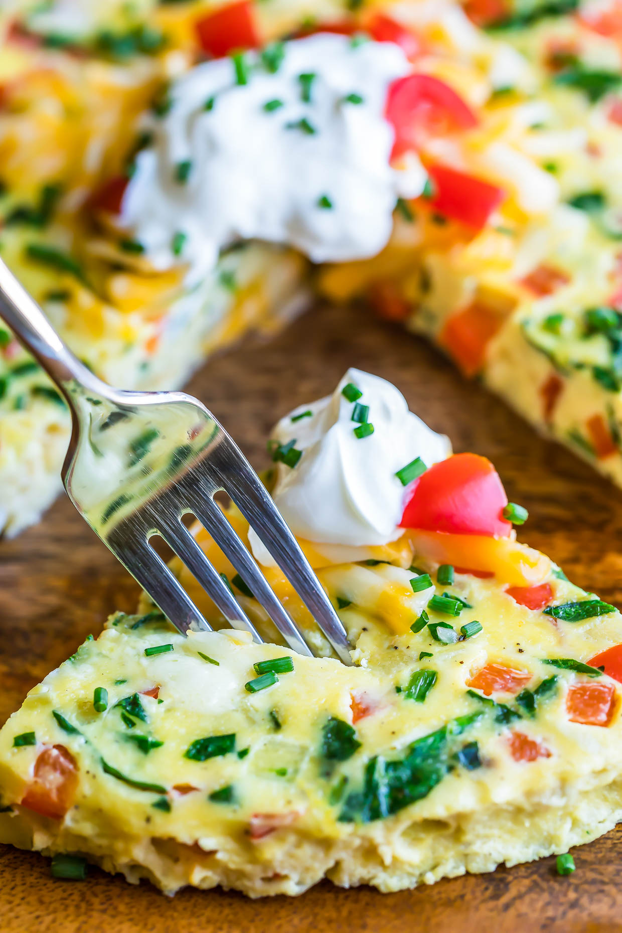 Instant Pot Frittata Breakfast Casserole Peas And Crayons