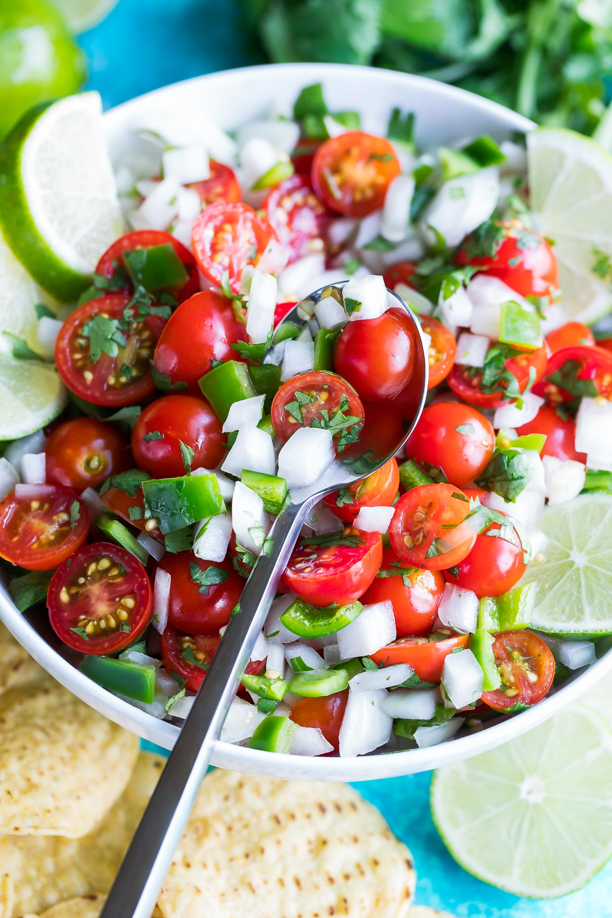 Cherry Tomato Pico de Gallo Recipe