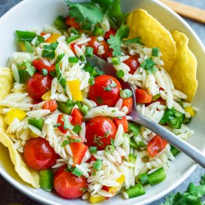 Easy Healthy Orzo Salad Recipe
