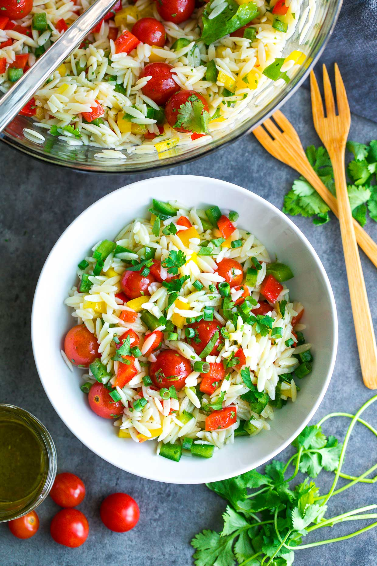 Healthy Orzo Salad