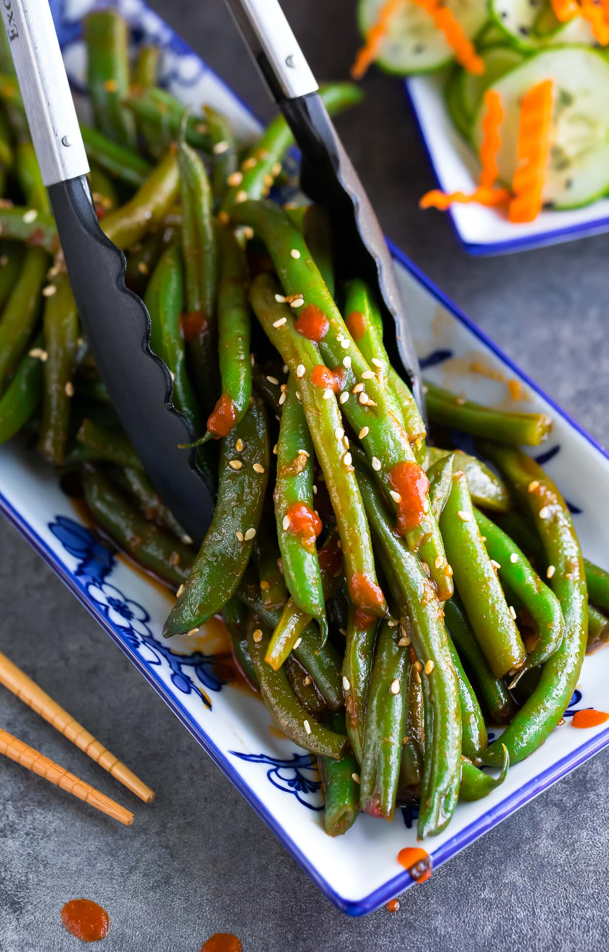 Spicy Sriracha Green Beans Recipe