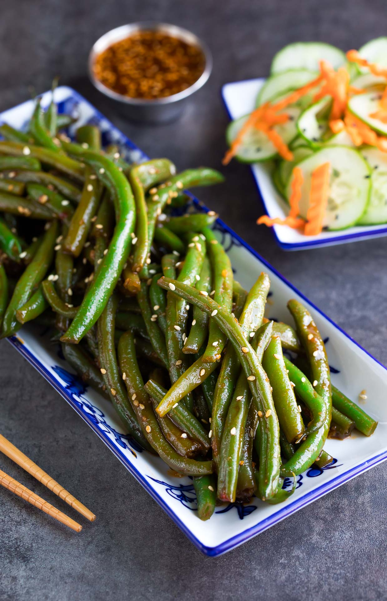 Spicy Sriracha Green Beans Recipe Peas And Crayons
