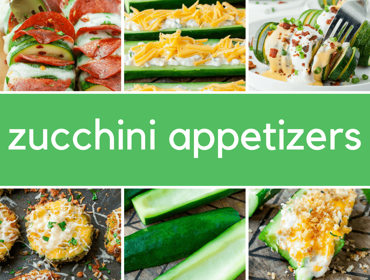 8 Must-Try Zucchini Appetizers