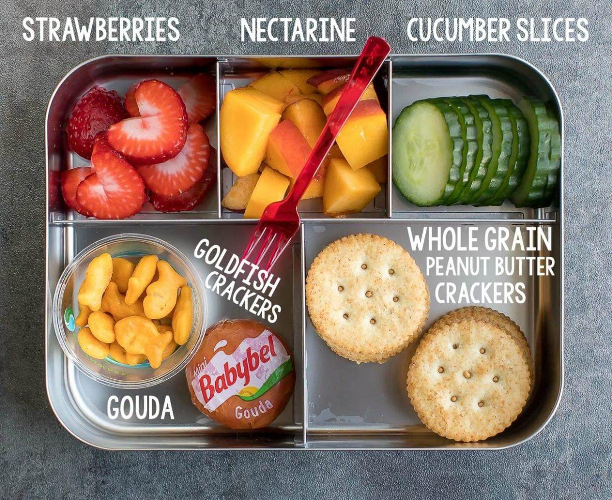 Easy Lunch Ideas for Kindergarten - Lunch Box 1
