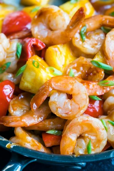 BBQ Pineapple Shrimp