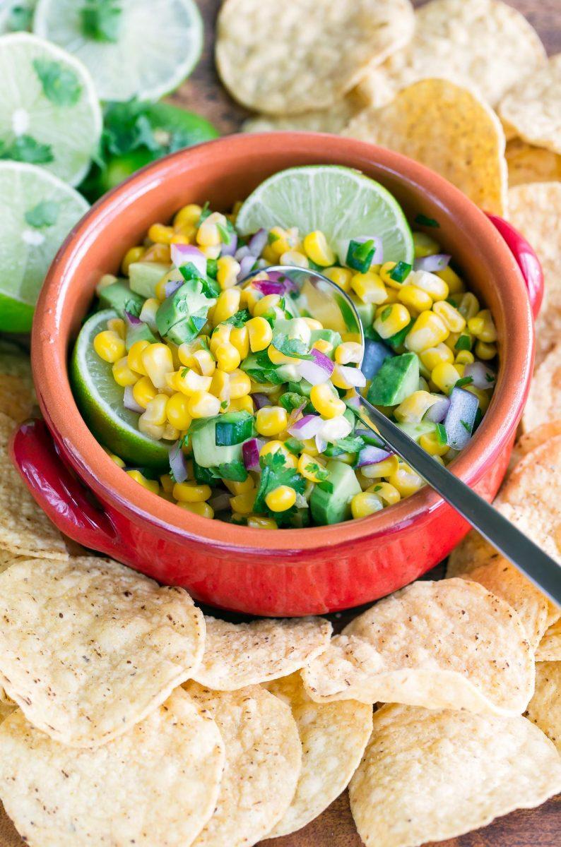 Avocado Corn Salsa Recipe