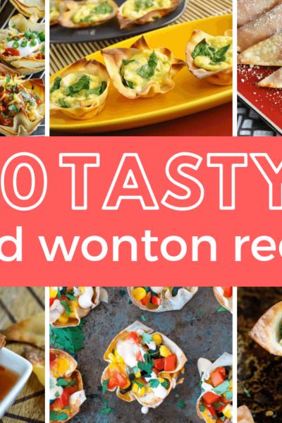 10 Tasty Baked Wonton Recipes