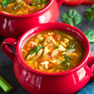 One-Pot Orzo Vegetable Soup Recipe