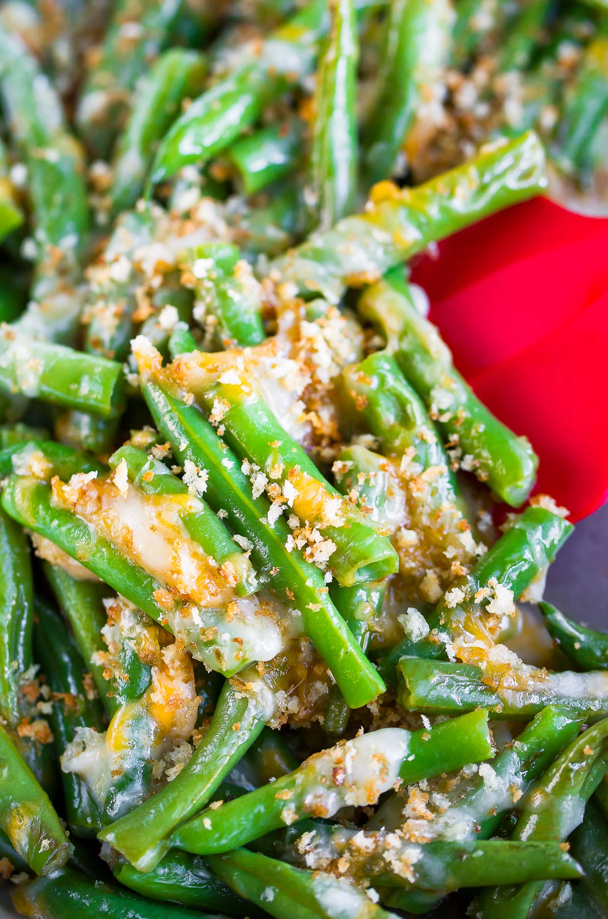 Cheesy Green Beans Recipe