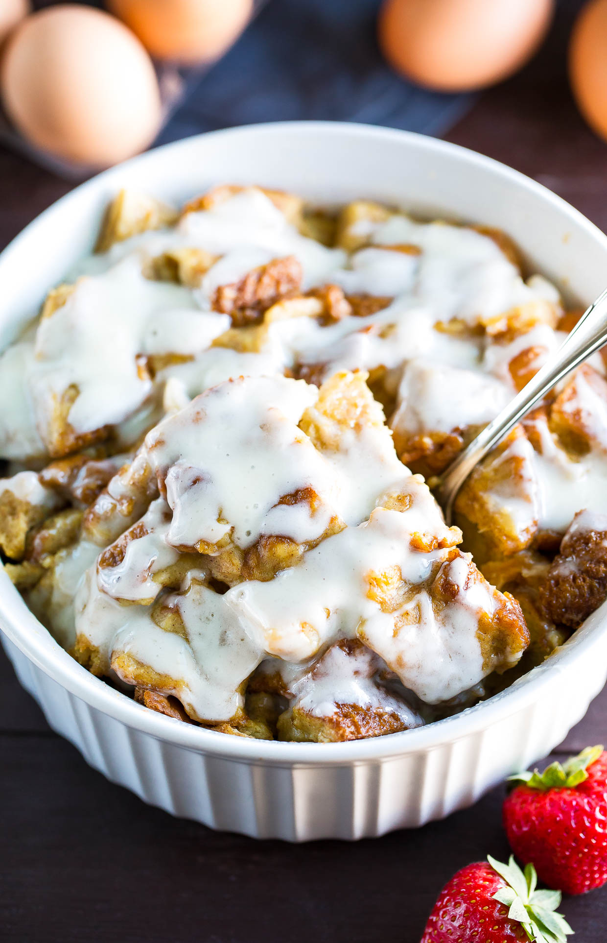 Instant Pot French Toast Casserole with Icing Recipe