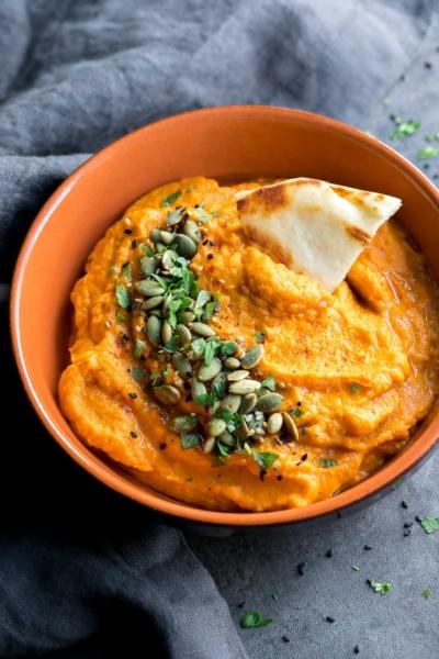 Spicy Sweet Potato Dip