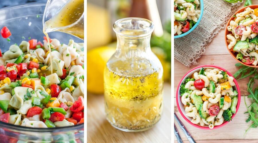 Pasta Salad Dressing - 3 Ways!