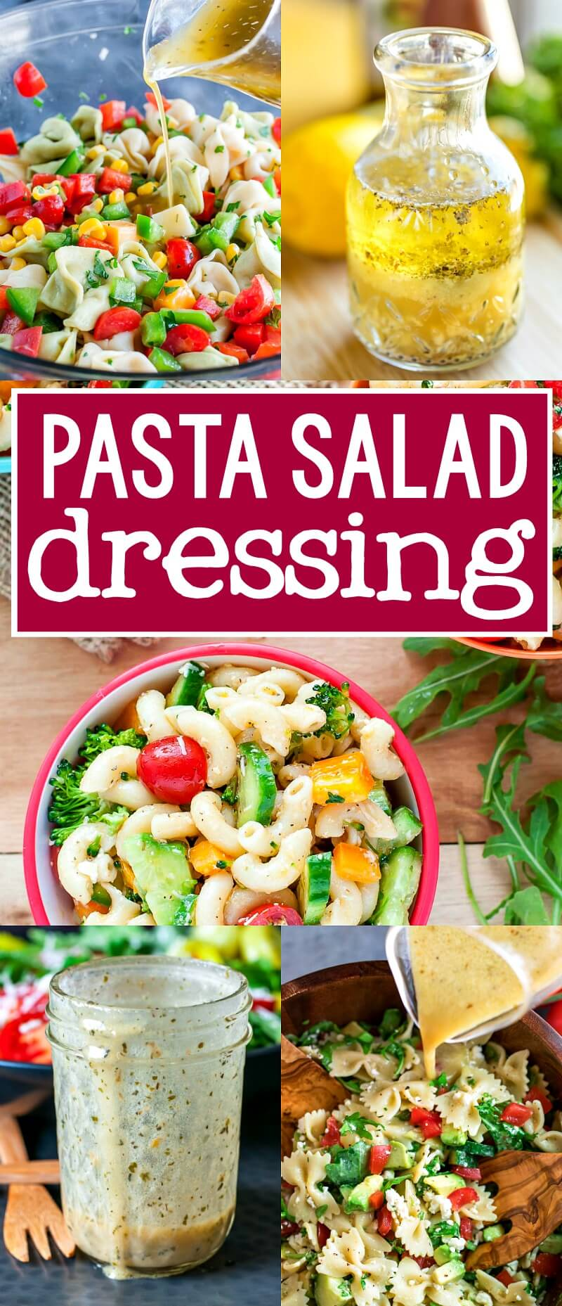 pasta salad homemade dressing