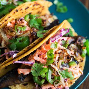Roasted Mushroom Tacos