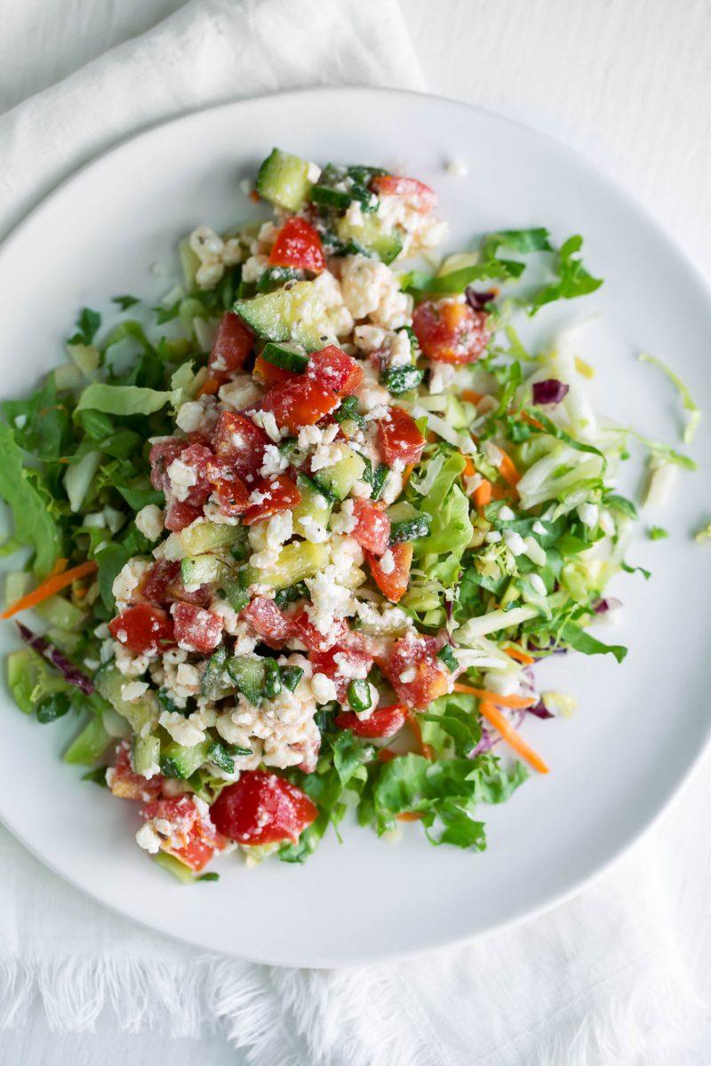 Feta Dip Salad Topper