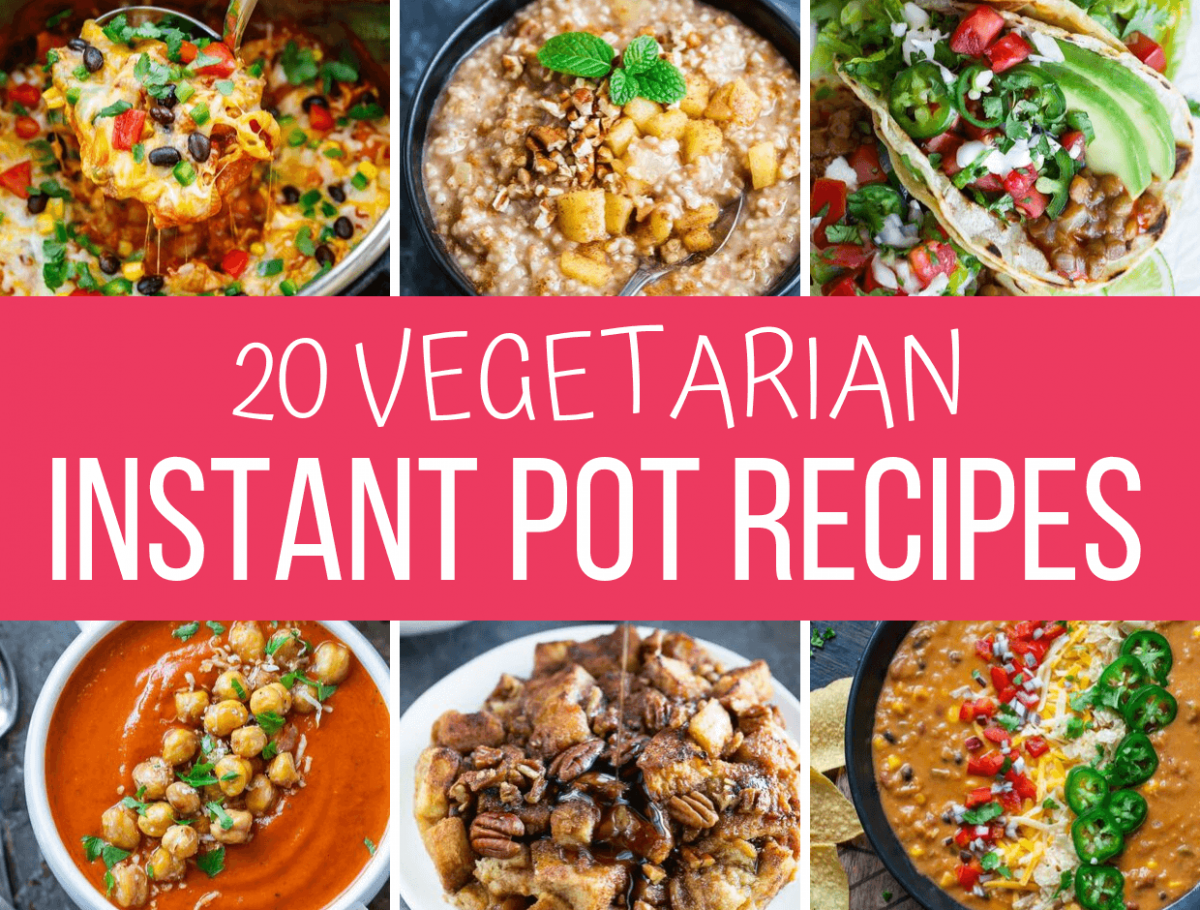 Vegetarian Instant Pot Recipes