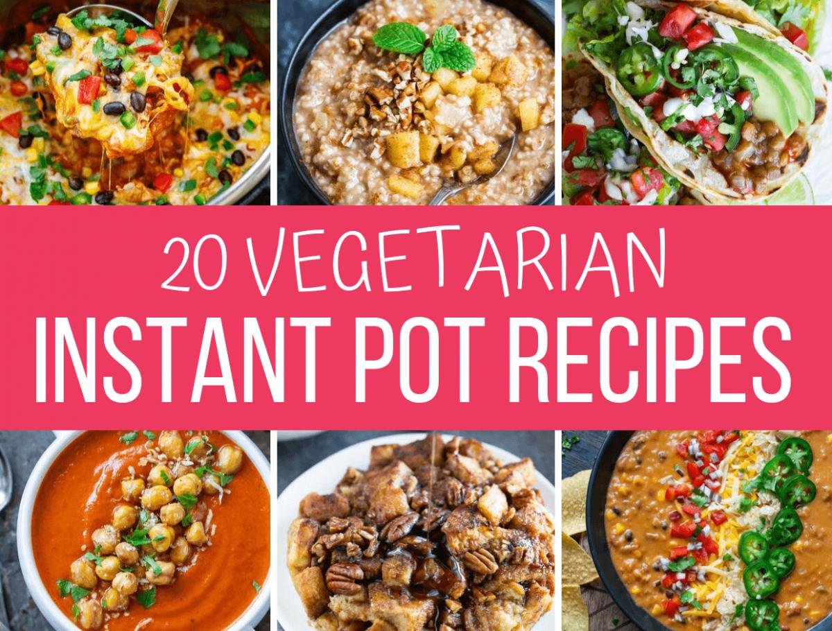 Vegetarian Instant Pot Recipes Peas And Crayons