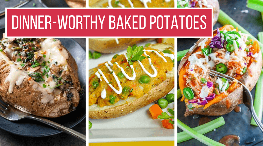 5 Ways To Eat A Baked Potato For Dinner Recipes More