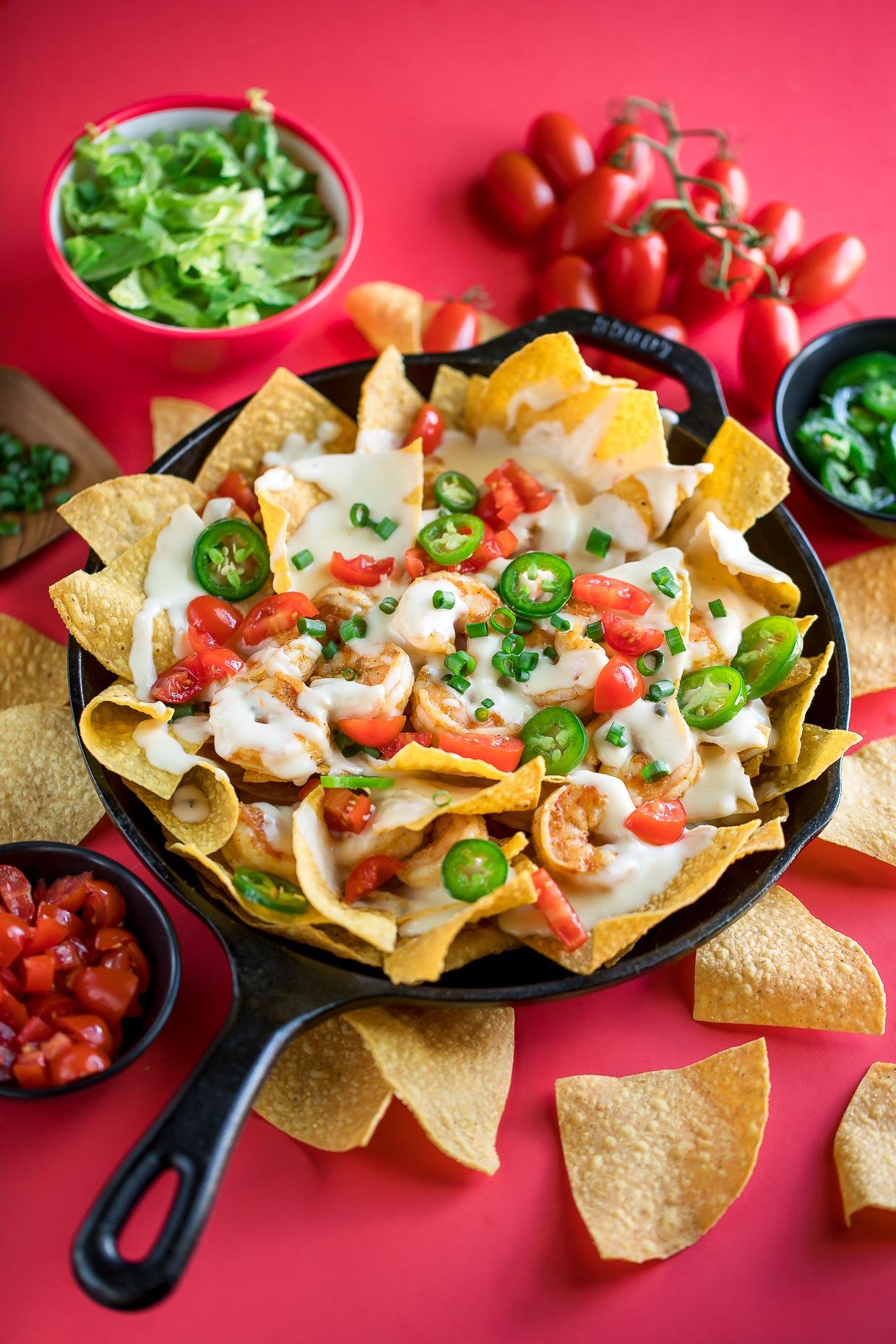 Shrimp Nachos Peas And Crayons Recipes