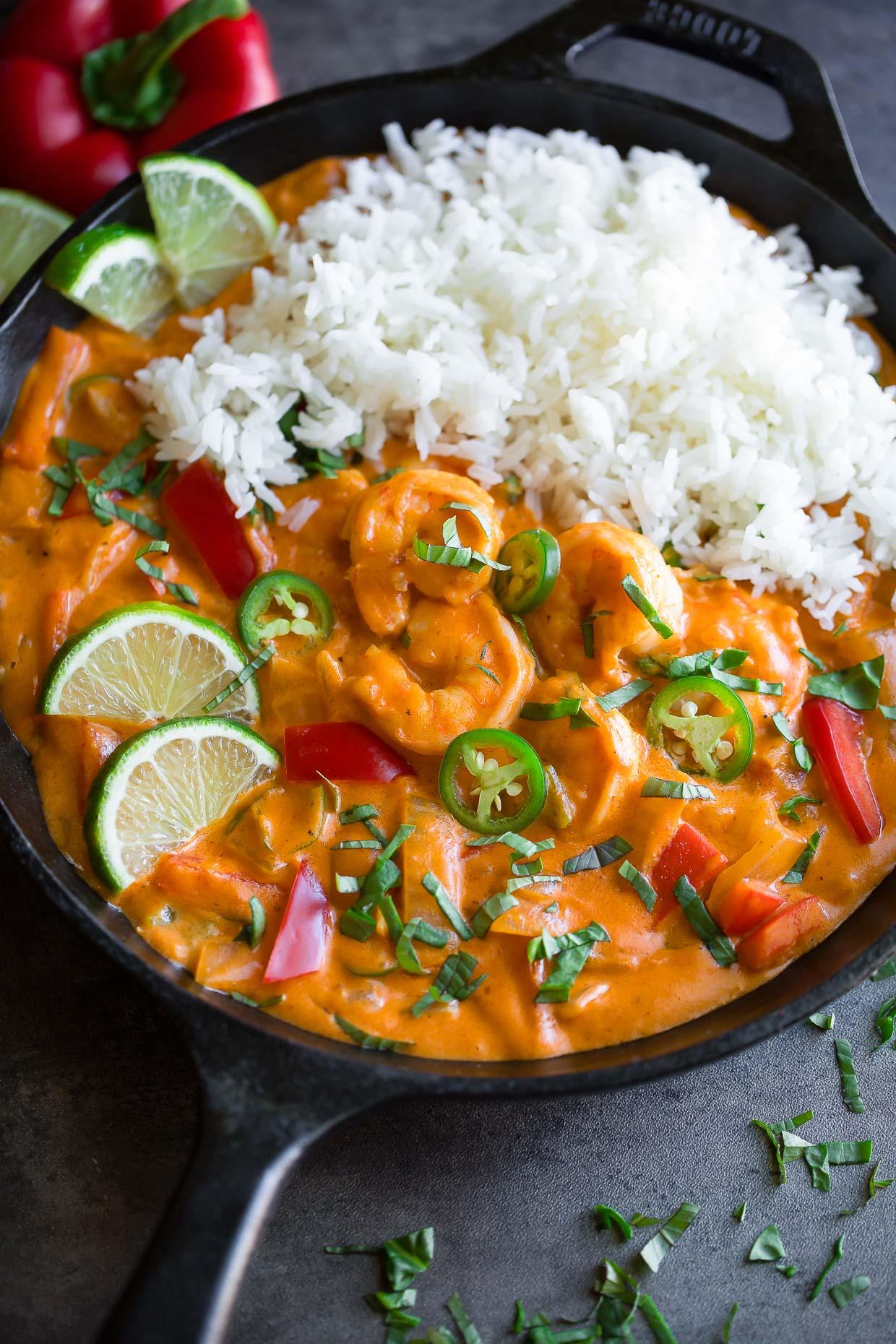 Thai Coconut Shrimp Curry Recipe Peas And Crayons