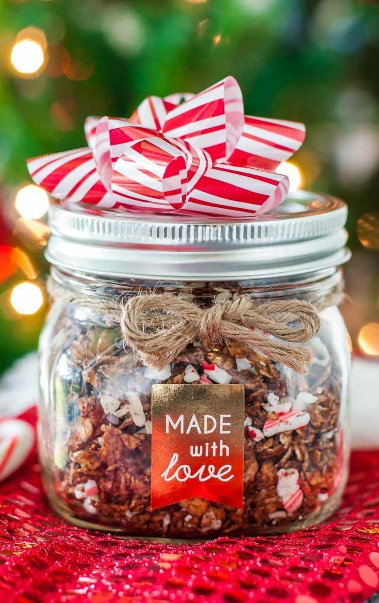 Holiday Granola Gift