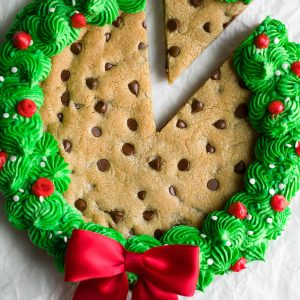 Christmas Cookie Cake Wreath