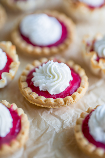 Cranberry Shortbread Tarts