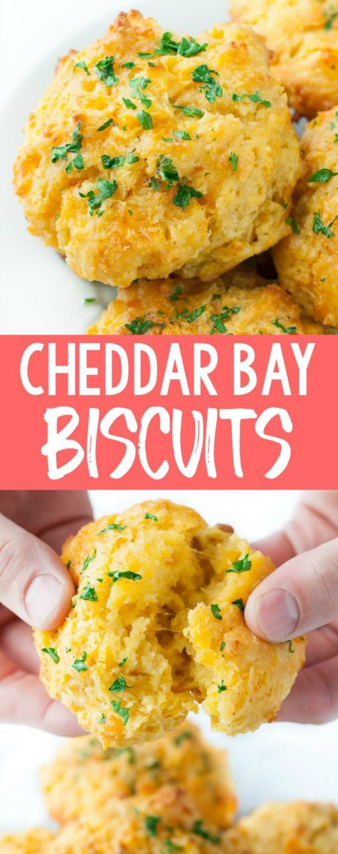 This uber-easy copycat of the infamous Cheddar Bay Biscuits will bring all the deliciousness of these wildly addictive biscuits to your face without ever having to leave home!