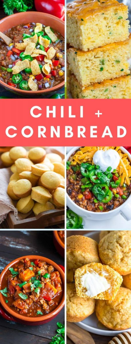 This tasty collection features a chili and cornbread recipe roundup of all our favorites! With T-Rex, vegetarian, and vegan options, there's something for everyone!