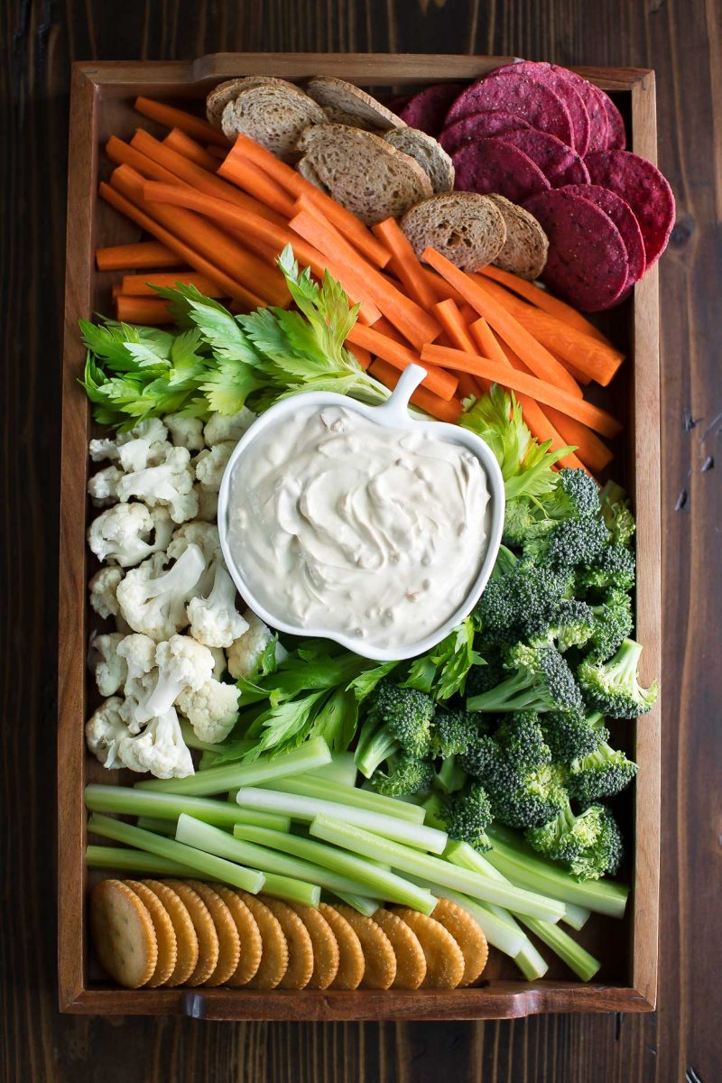 Awesome After School Snacks - Veggie Tray