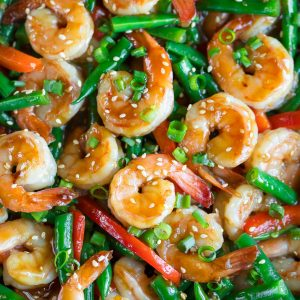 Teriyaki Shrimp Stir Fry