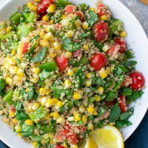 Vegan Quinoa Bowls
