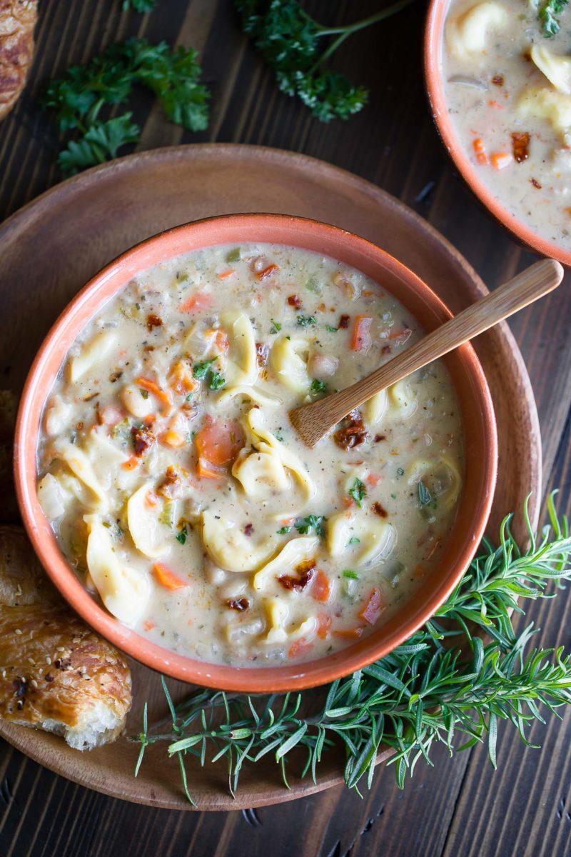 One Pot White Bean Soup