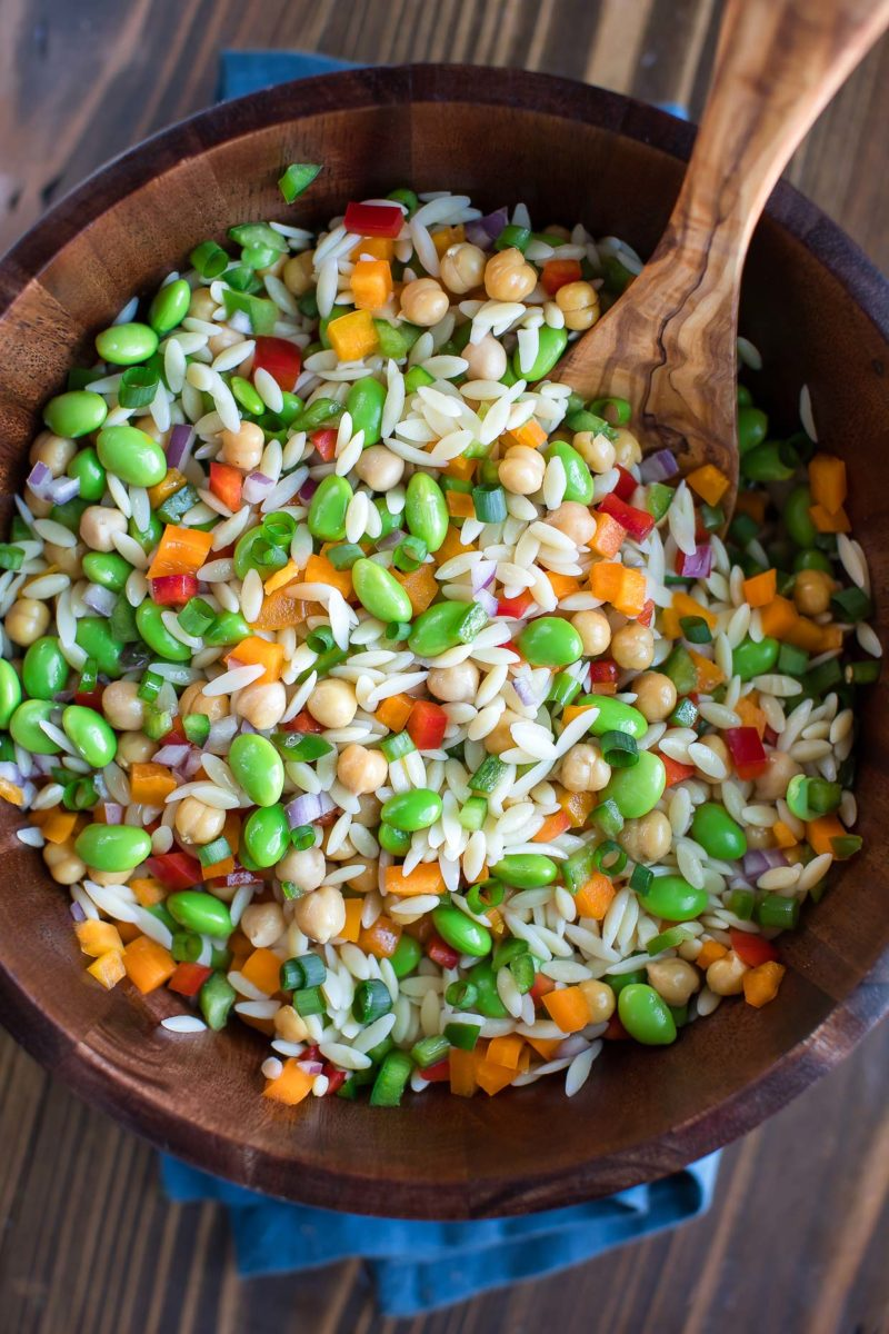 Orzo Pasta Salad Bowl
