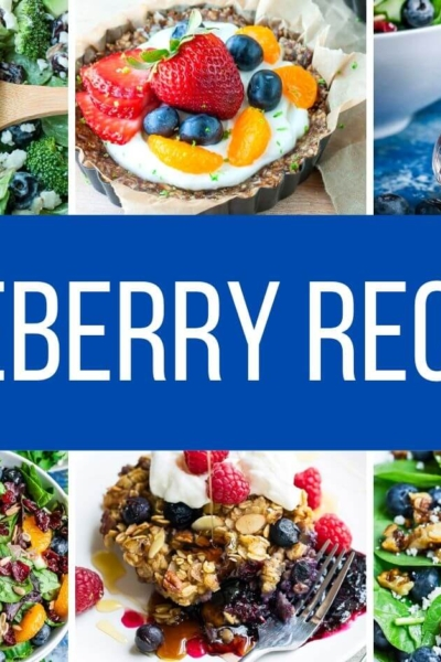 12 Sweet and Savory Blueberry Recipes