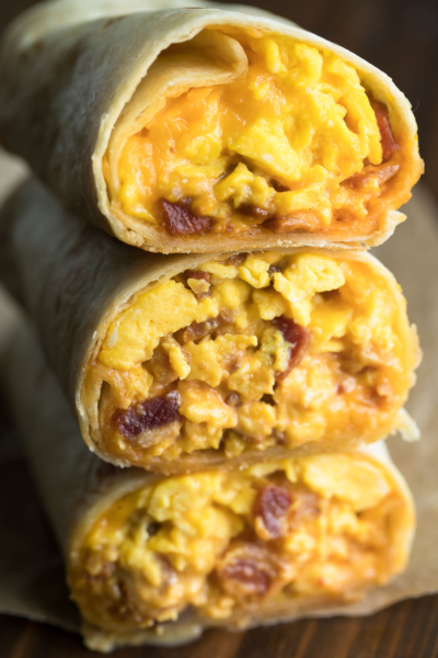Bacon Breakfast Burrtio