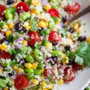 Cilantro Lime Quinoa Salad