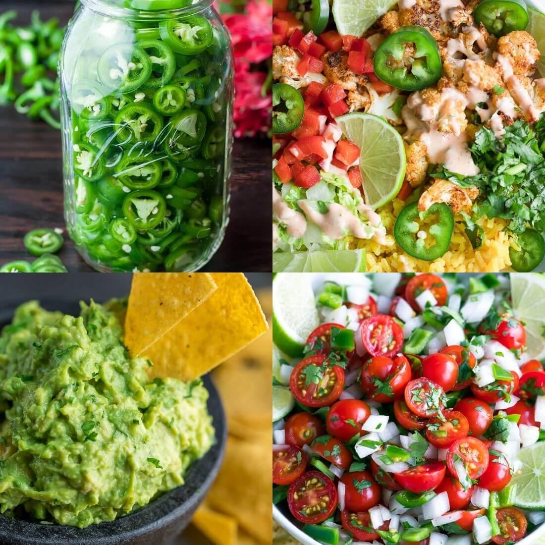 burrito bowl topping options