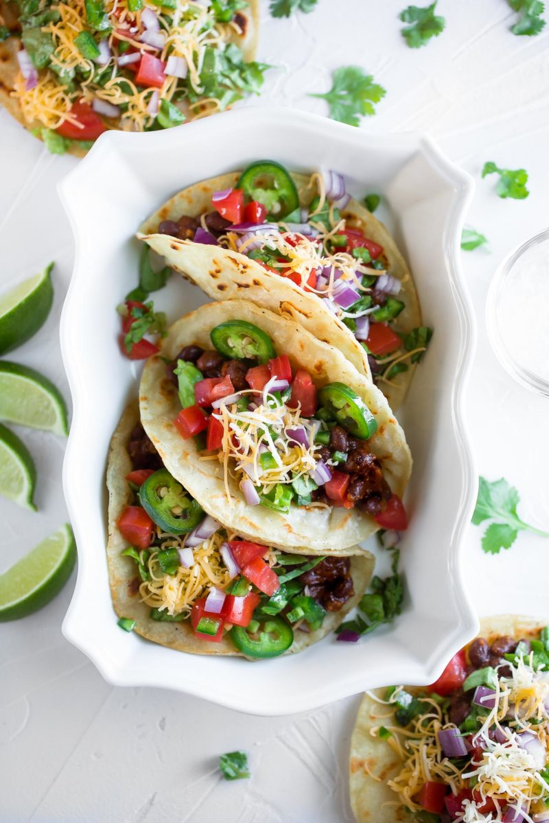 Our Best Black Bean Recipes - Black Bean Tacos