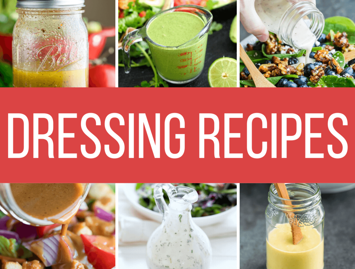 28 Quick and Easy Homemade Salad Dressing Recipes