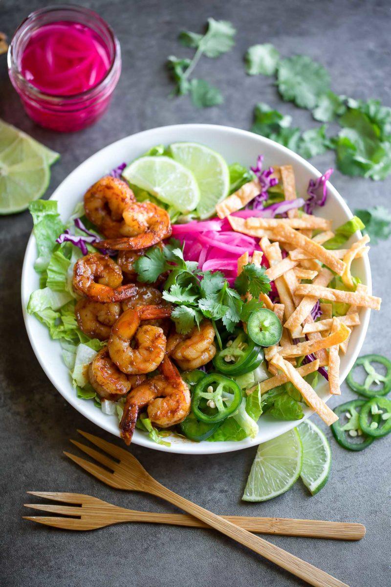 Gluten-Free Shrimp Taco Bowls