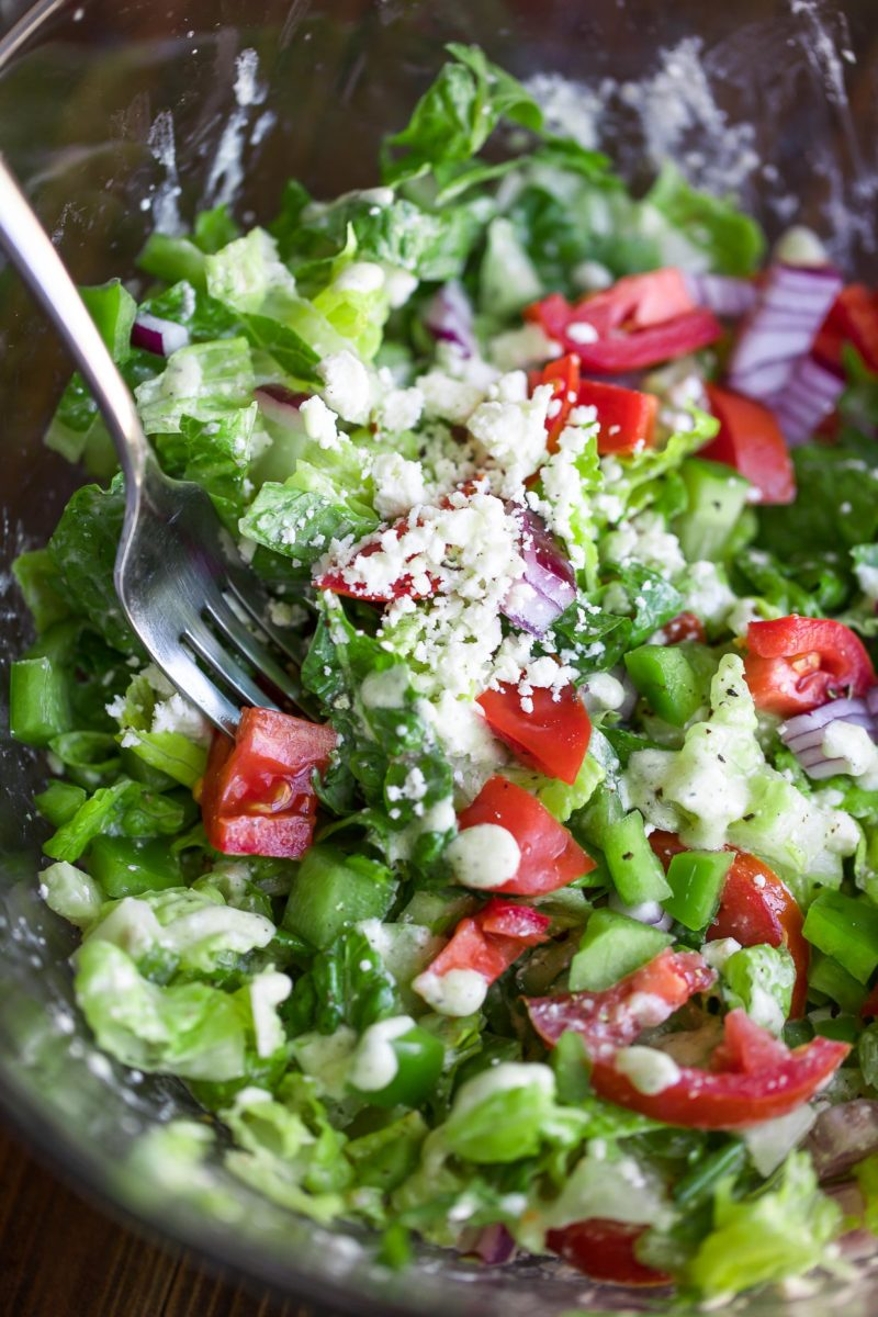 Chopped Salad with Feta