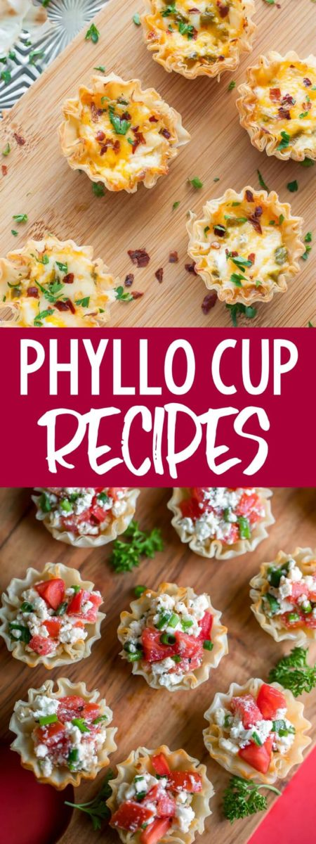 These Phyllo Shells Recipes make the ultimate party appetizers and bite-sized desserts. They're fun to make and even more fun to eat!