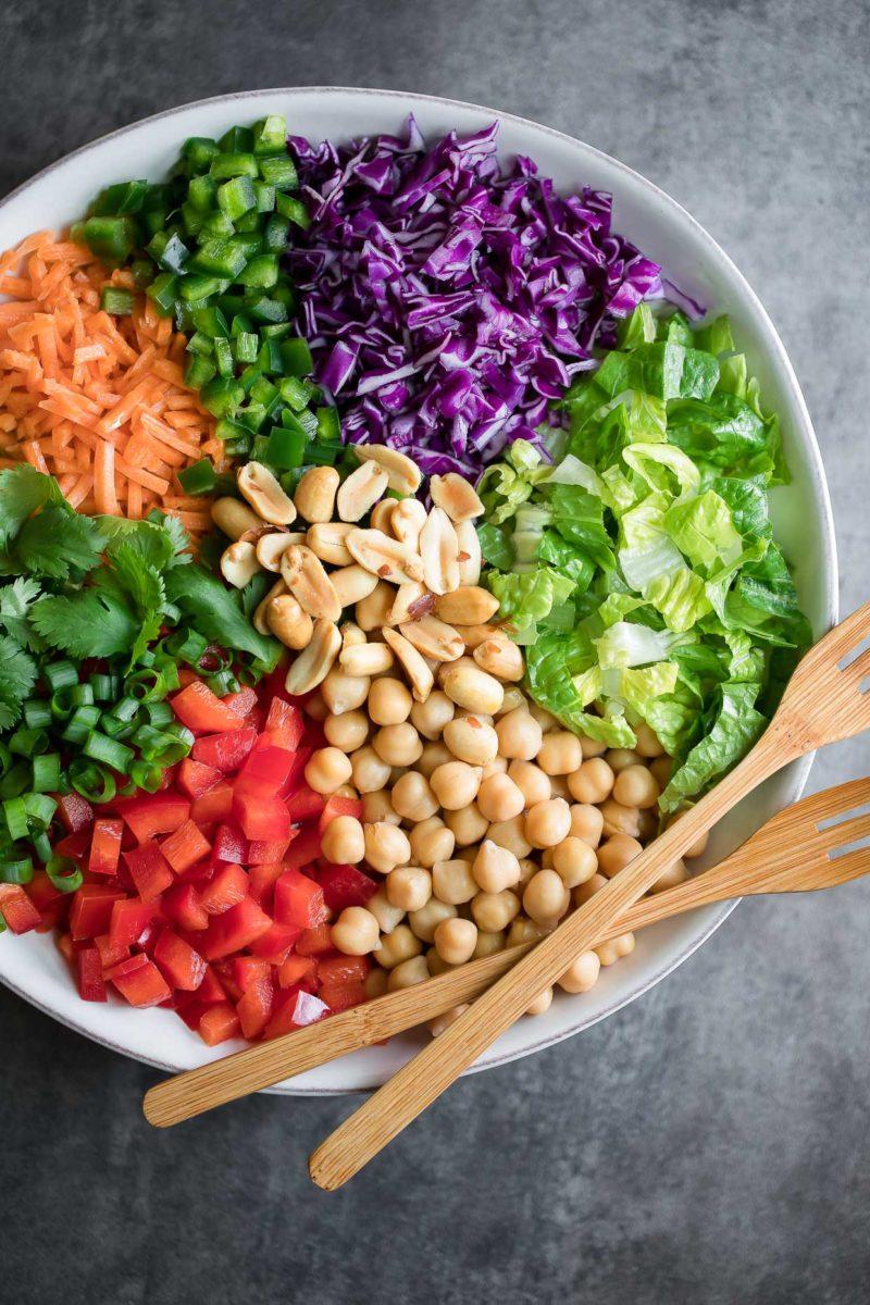 Thai Chickpea Salad