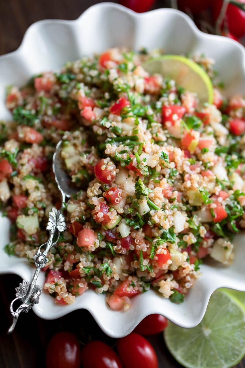Quinoa Tabbouleh Recipe Photo