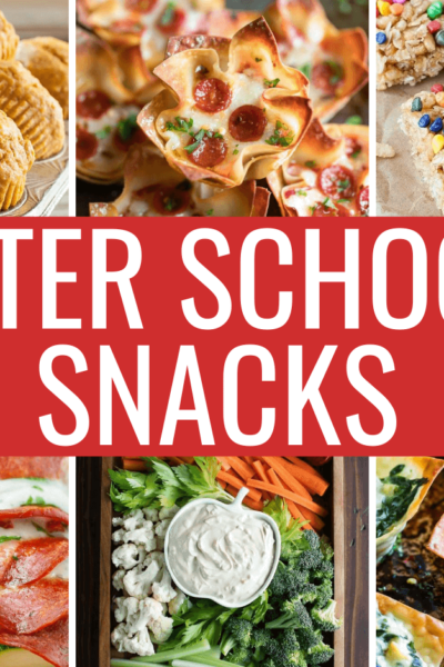 Awesome After School Snacks