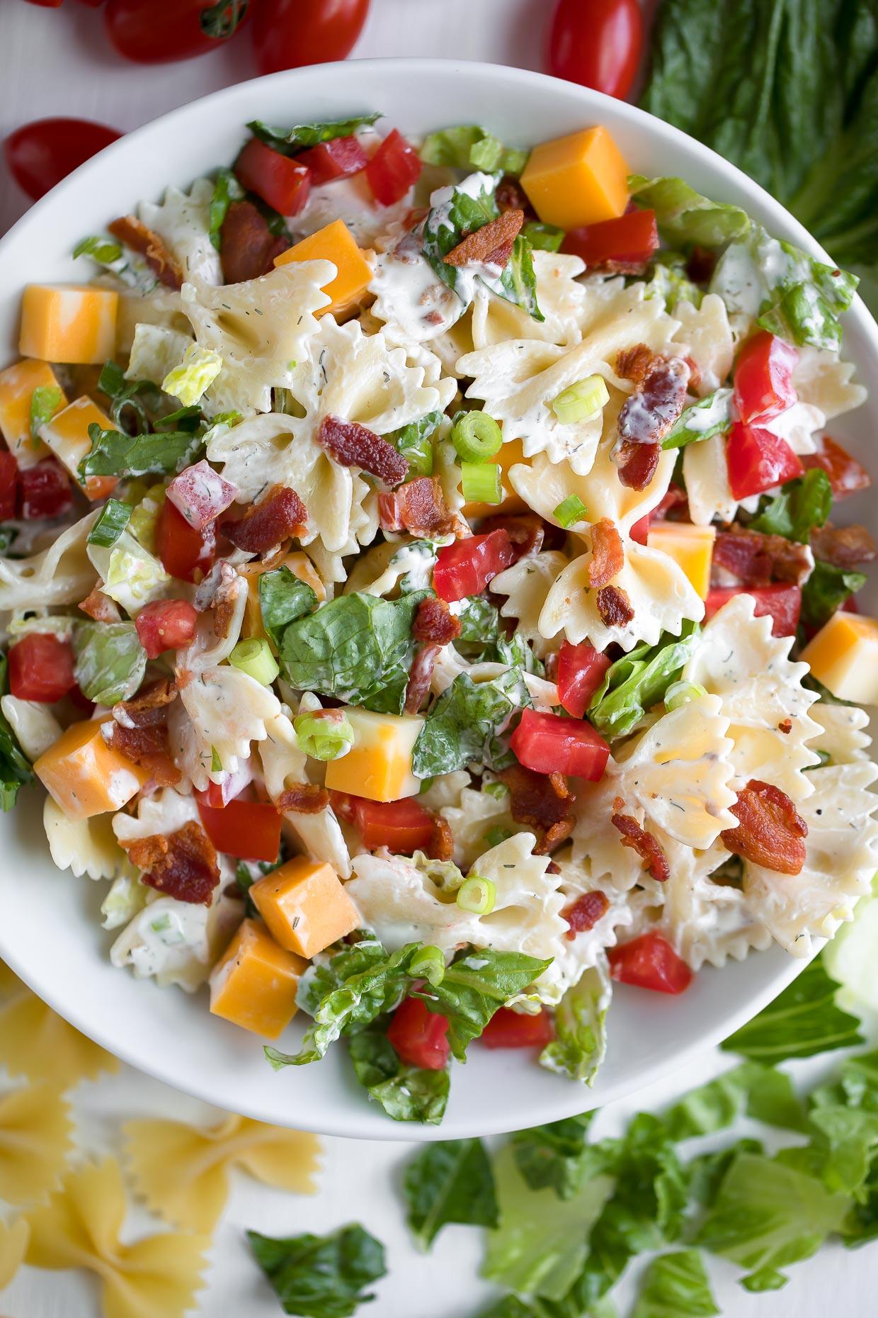 Pasta Salad Recipe Bacon