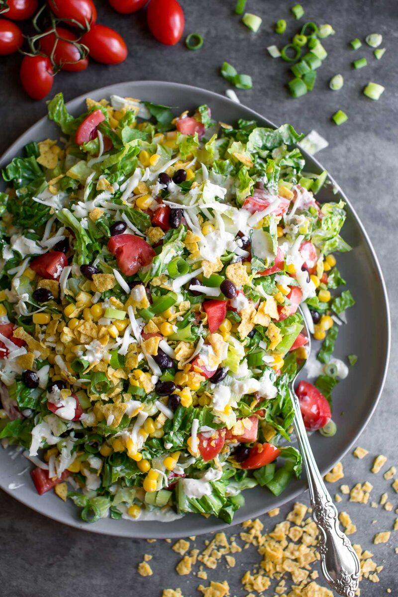 Crunchy Southwest Chopped Salad